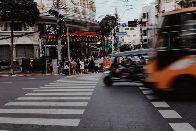 Chinatown Bangkok by theresahoffmann - Experimental Photography Project