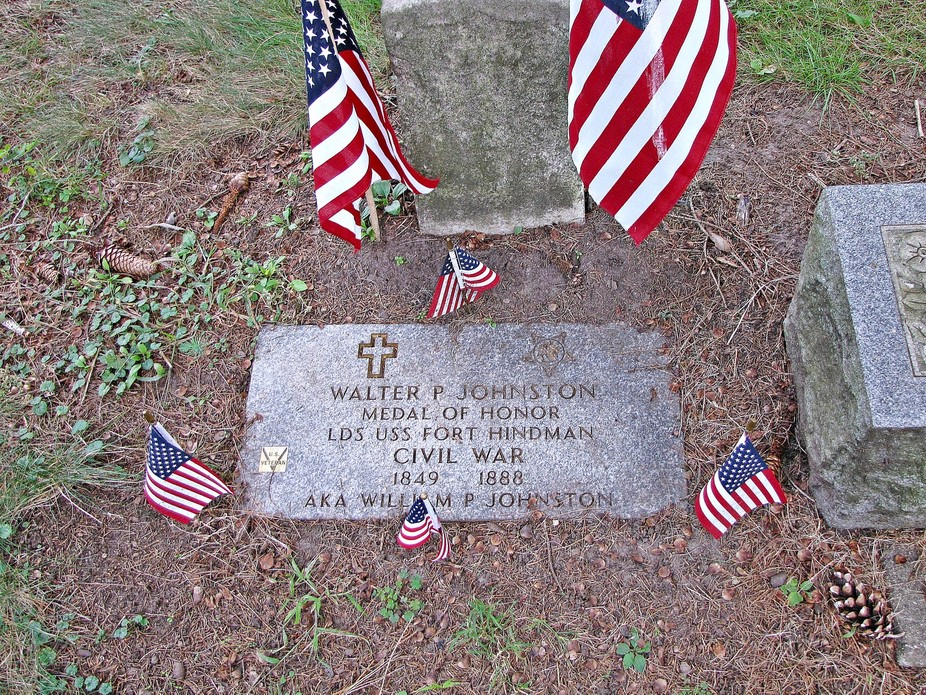 I ran into this Medal of Honor winners grave in Patton Cemetery, LaPorte, IN. The grave was marke...