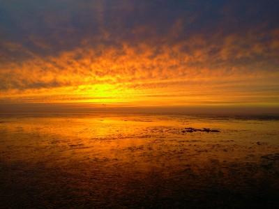 West Norfolk infinite sunset