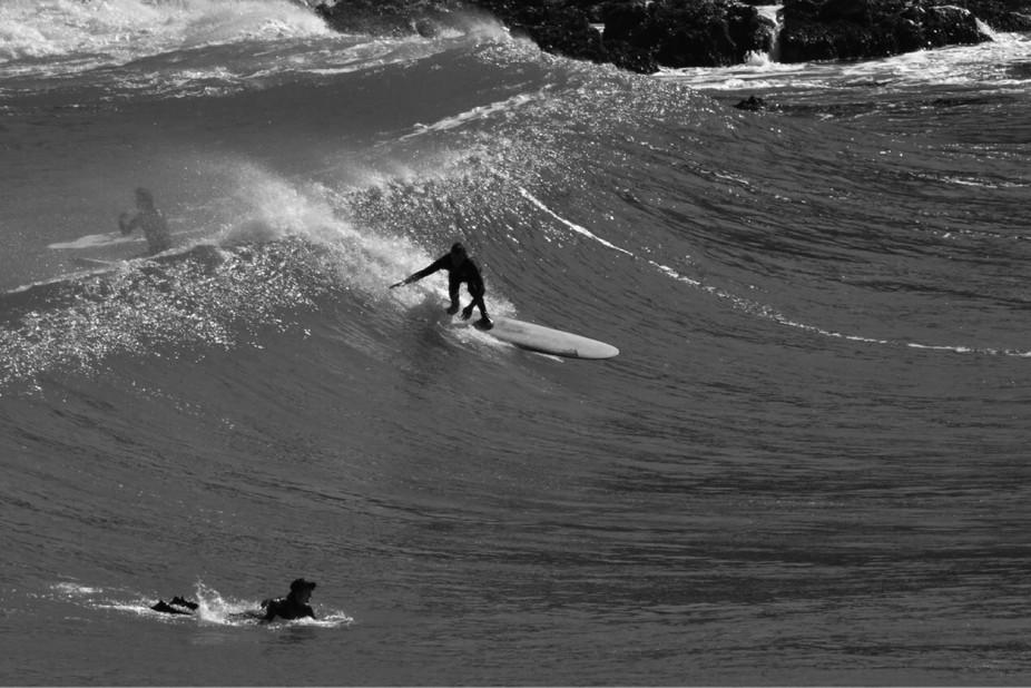 Sliding in Wellington waves