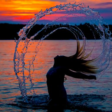 Sunset Mermaid Spray