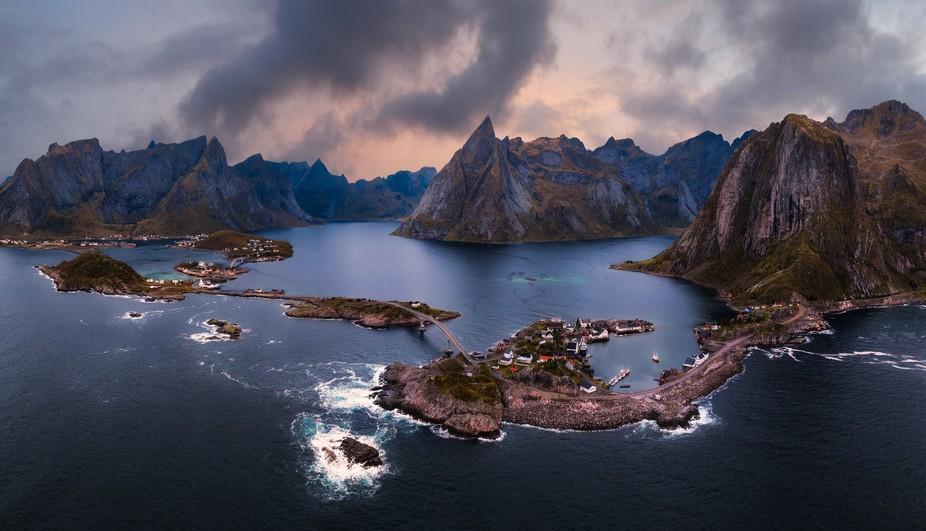 8 shot capture from Lofoten Norway.