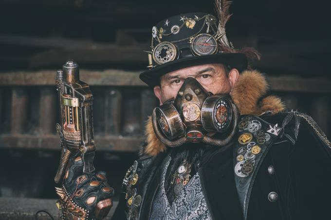 Steampunk convention Fond de Gras Luxembourg 2018