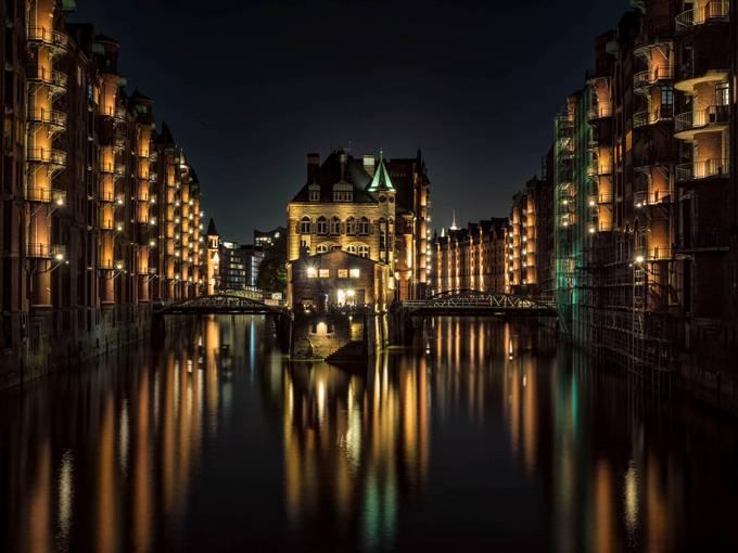 Wasserschlösschen by drbonn - Bright City Lights Photo Contest