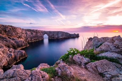Pont d'en Gil bridge   Menorca, Spain
