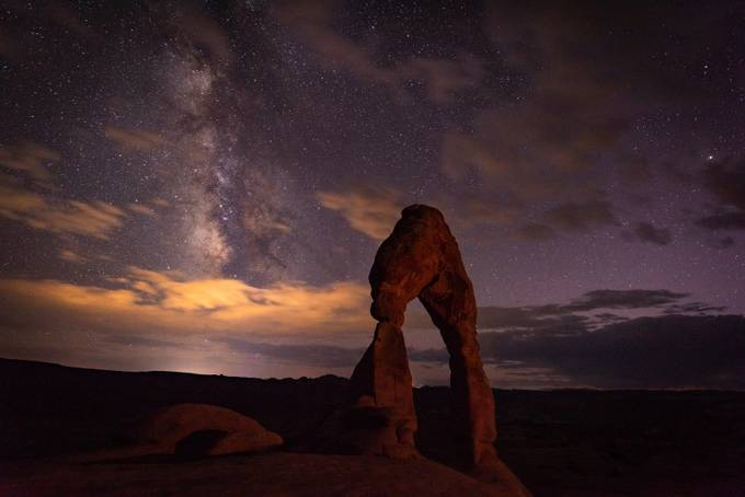 Arches delight by Reallycrazykiwi - Capture The Milky Way Photo Contest