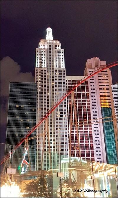 Las Vegas Nights on the Strip
