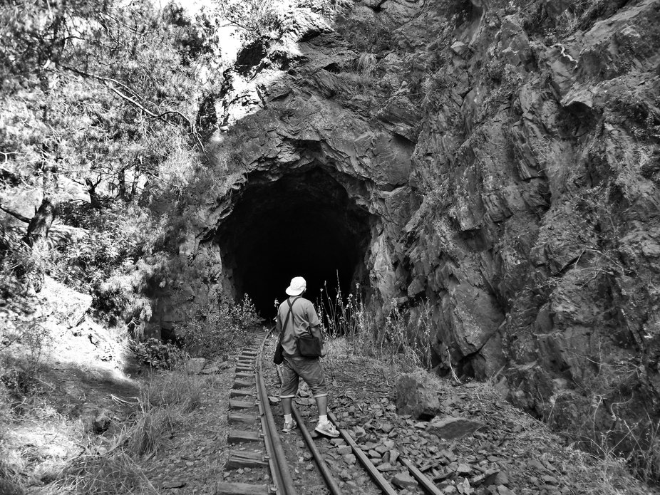 Tunnel built in 1870....