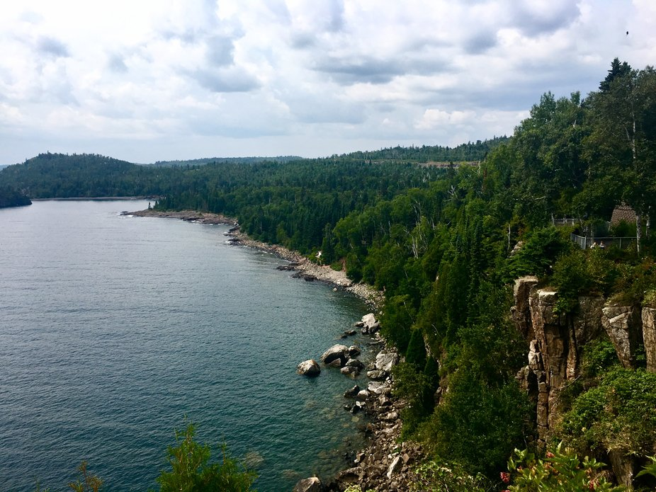 The view at Split Rock, MN