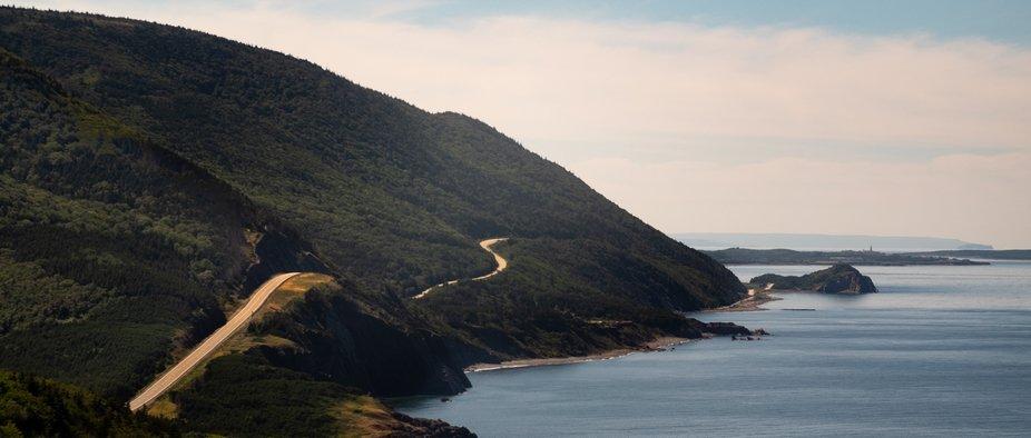 Cabot Trail, Nova Scotia.