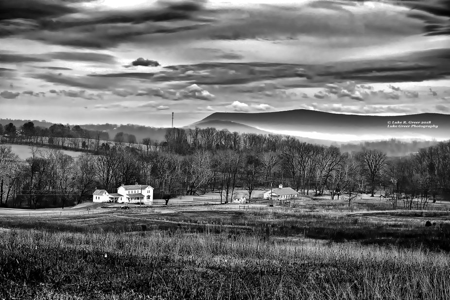 Toms Brook Civil War Battlefield Area,  Shenandoah County, Virginia