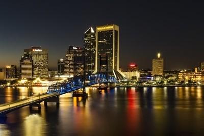 Jacksonville, Florida City Lights