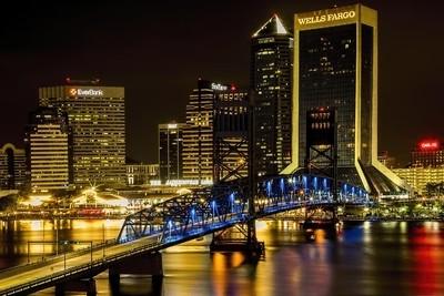 Jacksonville, Florida Night Lights