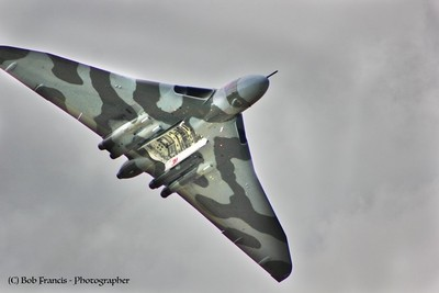 2011 Fairford - Vulcan Bomber bay open