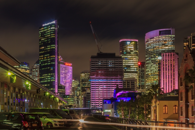 Sydney by margaretharrison_2141 - Bright City Lights Photo Contest
