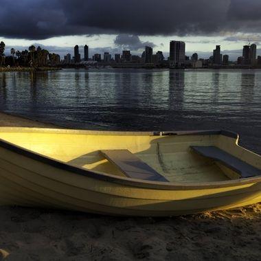 Single Boat Scene
