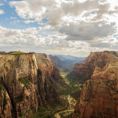Looking over Zion