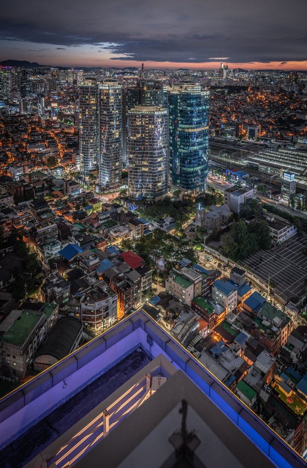 Seoul lights by iordandanielteodorescu - Night Wonders Photo Contest