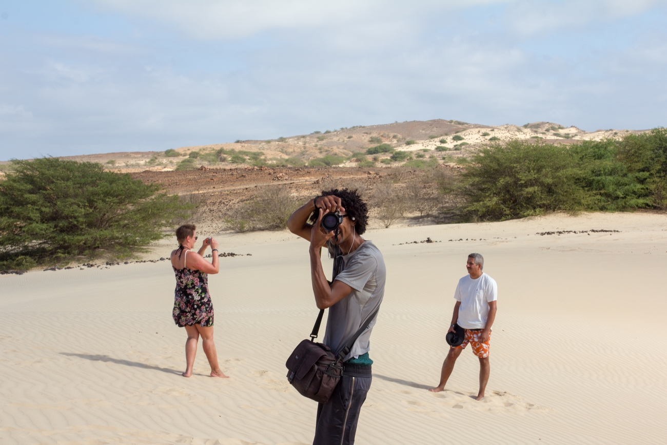 We were on a tour of Boa Vista Cape Verde with photographers from Photo Ivercan