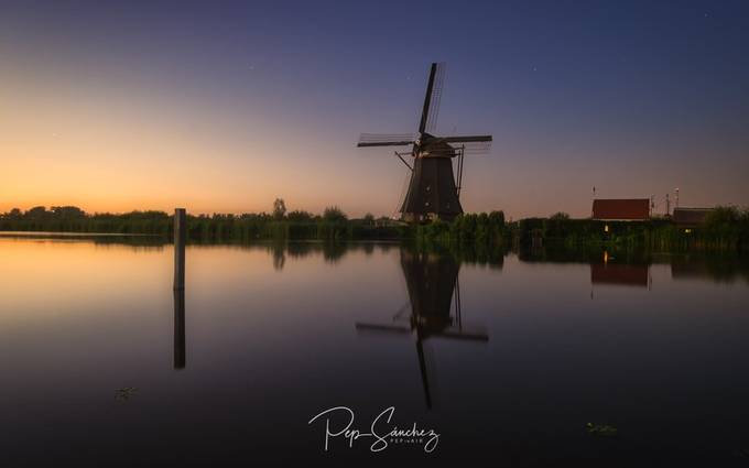The calm of Kinderdijk by pepinair - This Is Europe Photo Contest