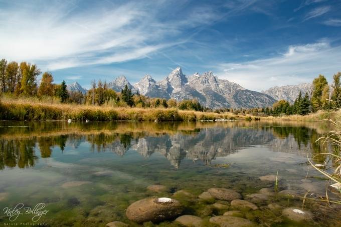 Another great day at Schwabacher Landing.