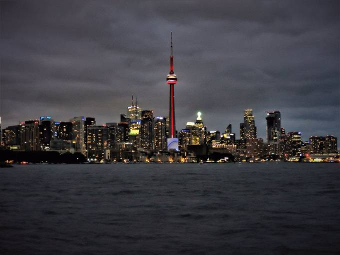 Harbor T.O. from Tall Ship by leslieharris_6512 - Bright City Lights Photo Contest