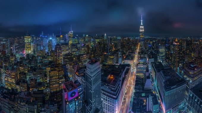 Different NY by ivanferrerophoto - Bright City Lights Photo Contest