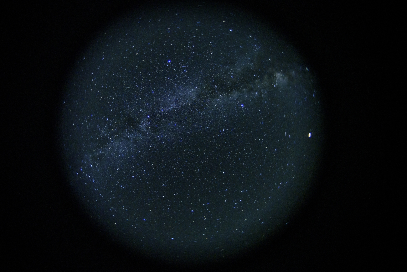 Taken with a Lensbaby swap optic fisheye and Nikon D750 in the Mojave Desert.