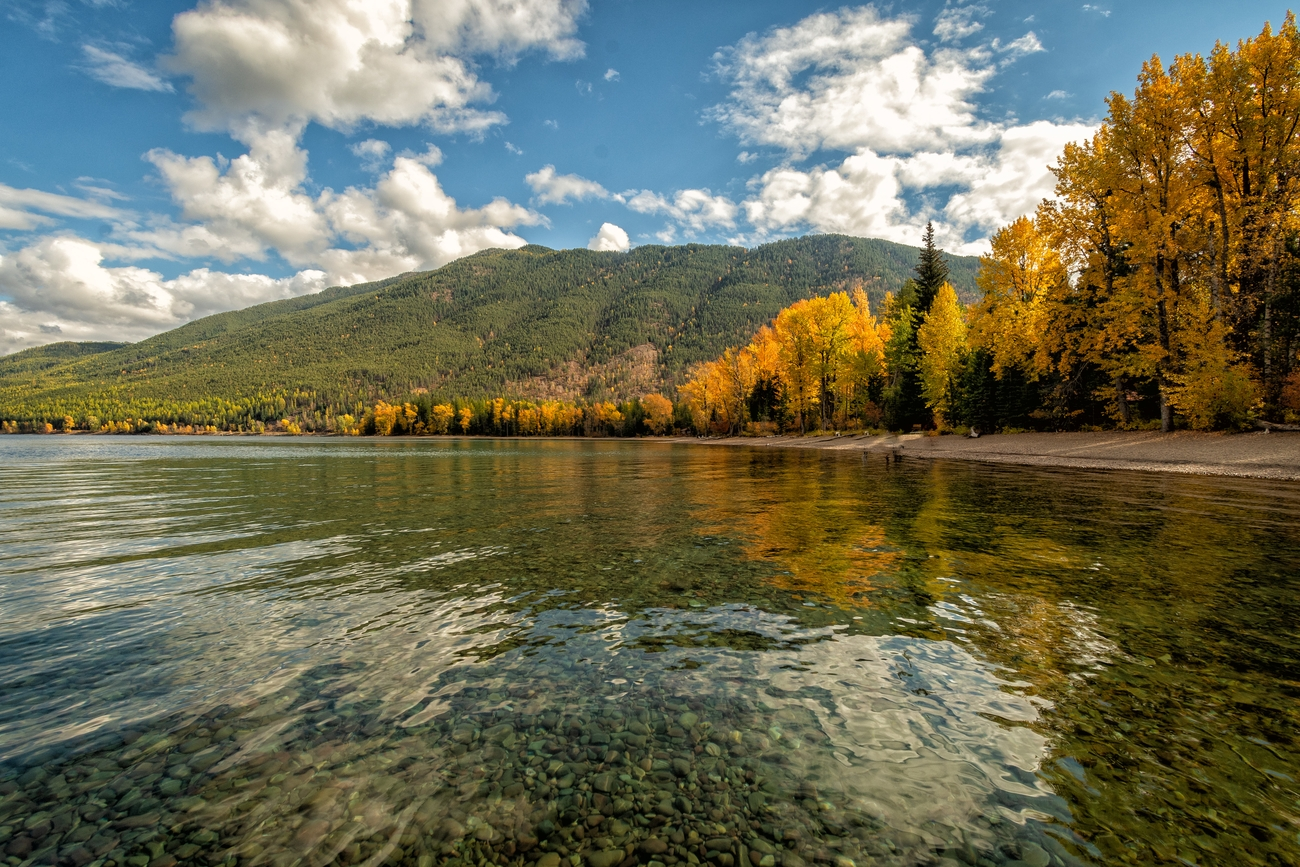 McDonald Lake Autumn