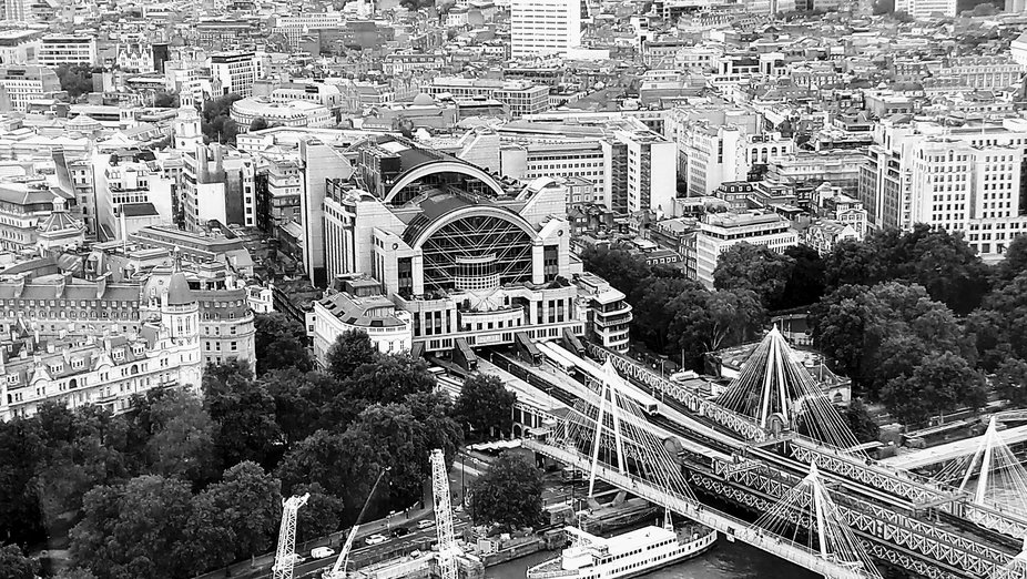 Taken from the London Eye, great views, next time I'll go up the Shard with my Good came...