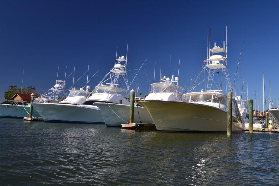 Home port pics of off shore fishing boats