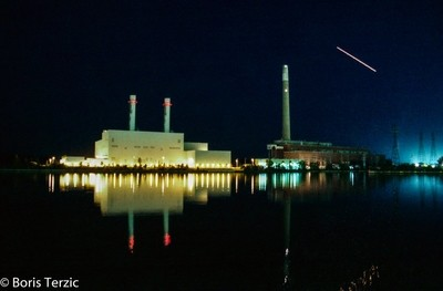 The Hearn at Night.