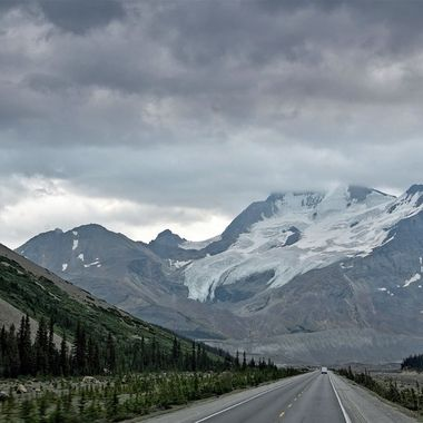 Travelling Along The Icefields Parkway, Canada