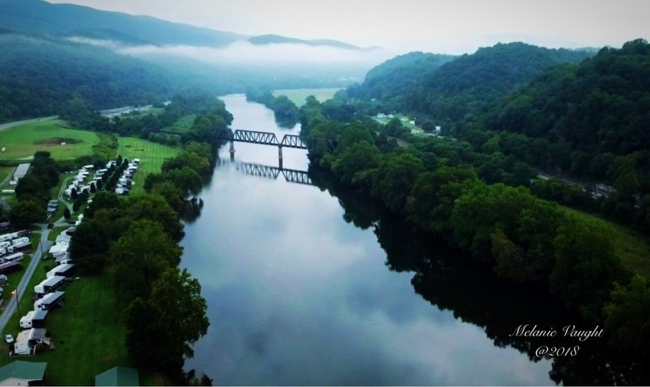 New River in southwestern Virginia