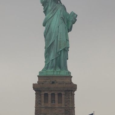 Shot from the Staten Island Ferry, the Statue of Liberty was historically the greeting for so many people to their new lives in the Americas.