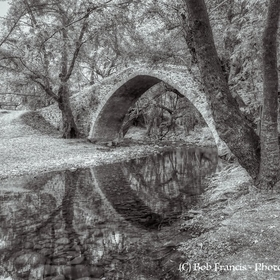 Once again a photo of my favourite bridge but now in black and white