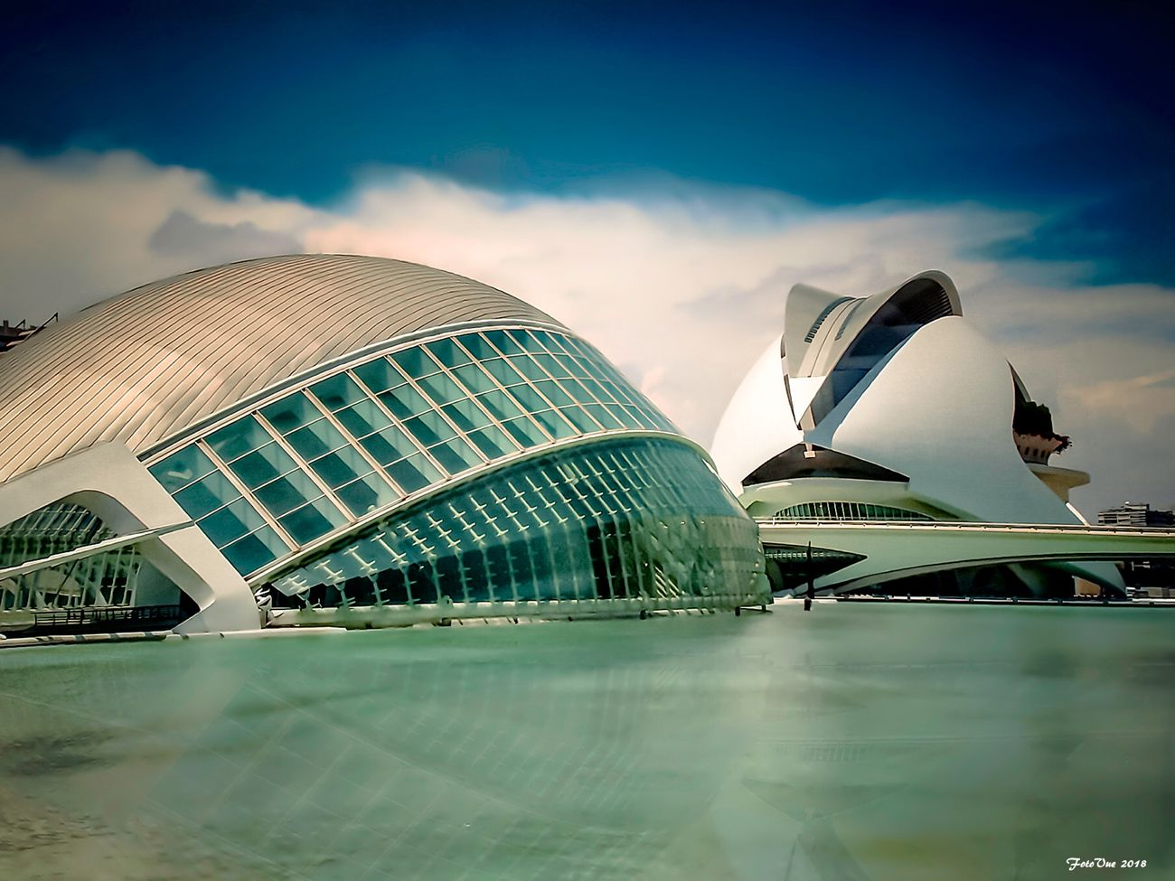 Palace of Arts and Science Valencia Spain
