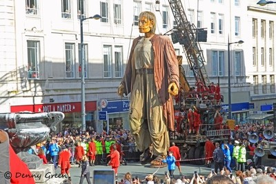 Big Giant in Derby Square Liverpool.