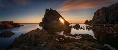 Fiddle Rock Panorama