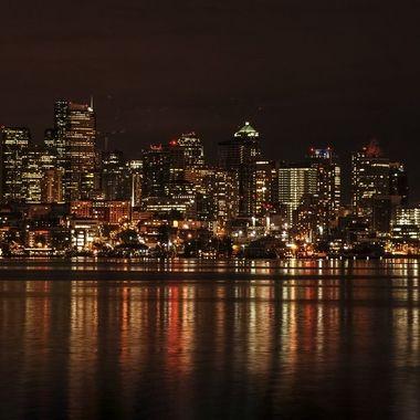Seattle Sklyline Reflection