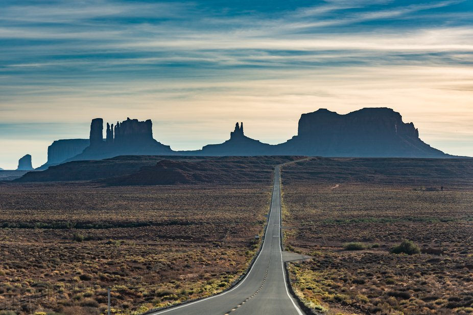 Monument Valley, UT .. Scene from a movie