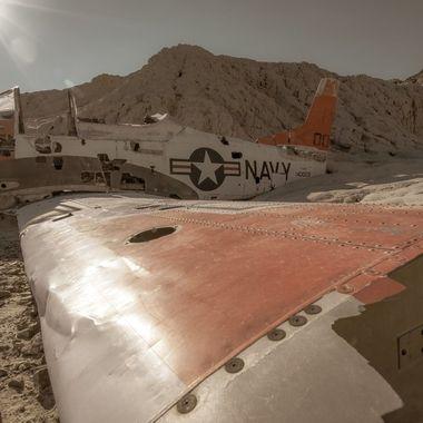 North American T-28B Advanced Trainer - Nelson, NV.