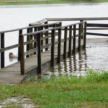 Flooded Dock