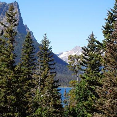 Saint Mary's Lake Glacier National Park