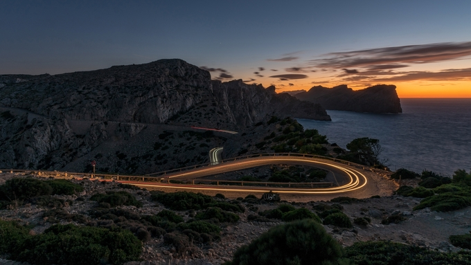 2018_DarMar_sunset road by DarMarWorld - Night Wonders Photo Contest