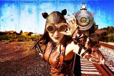 Steampunk Cat Woman