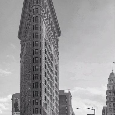 Flatiron Building in B&W