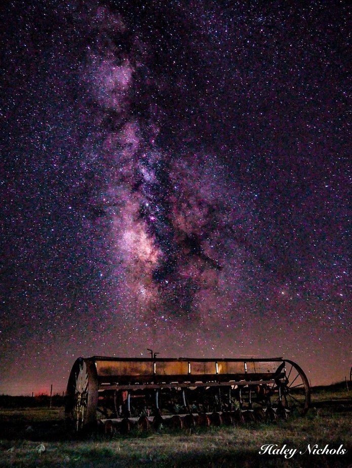 Country Sky by Nichols7398 - Capture The Milky Way Photo Contest