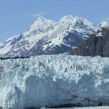 We were cruising through Glacier Bay Alaska