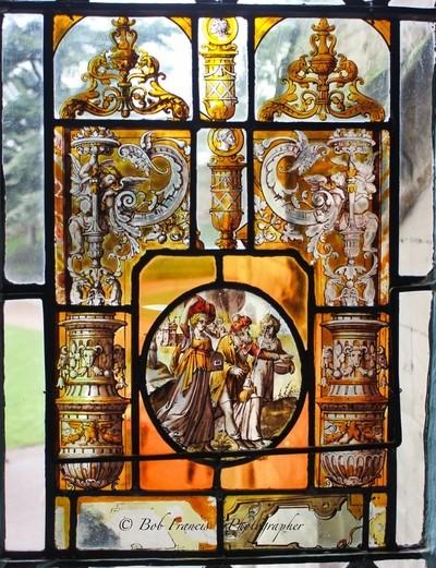 Warwick Castle Window